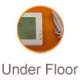 Under Floor Thermostats with Sensor
