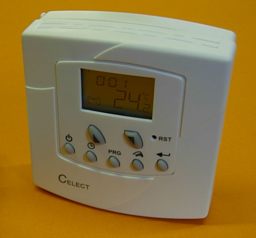 CELECT DIGITAL PROGRAMMABLE ROOM THERMOSTAT VOLT FREE