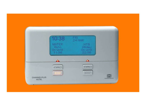 Horstmann 2 ChannelPlus 7 Day Electronic Central Heating Programmer H27XL - Series 2