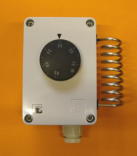 Room Thermo-regulator for Industrial Installations with External Adjustments IP55 Ext Scale -35°C~+35°C