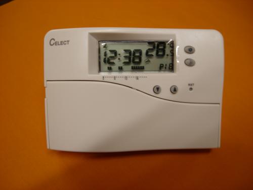 celect digital programmable combi room thermostat. Black Bedroom Furniture Sets. Home Design Ideas
