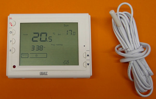 Programmable LCD Floor Thermostat
