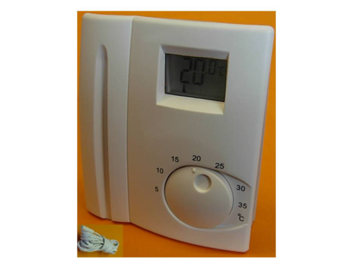 LCD Electronic  Floor Thermostat with Sensor