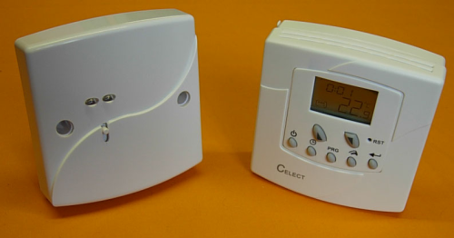 Programmable Wireless RF Room Thermostat VF