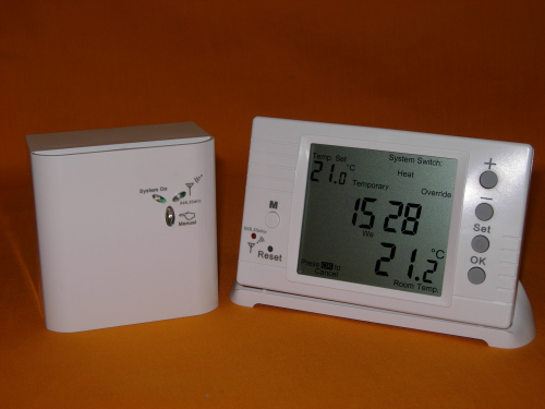 Digital Large Screen Programmable RF868MHz Wireless Room Thermostat