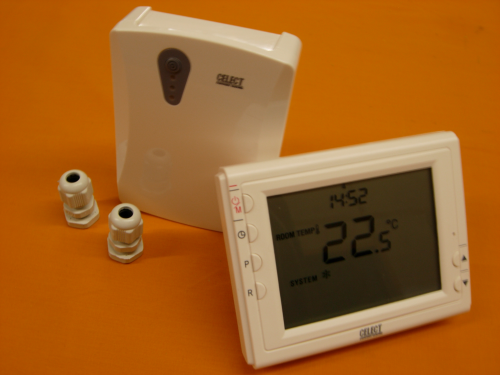 Celect Wireless RF 868MHz Programmable Temperature Control Heating Room Thermostat