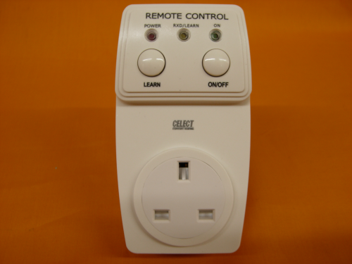 Celect Wireless RF 433MHz Plug In Receiver Unit for 816-RF(ES) & 908-RF(ES)